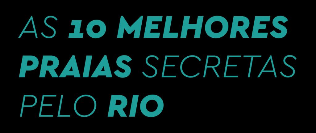 As 10 melhores praias secretas do Rio de janeiro